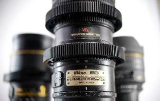 Nikon's legendary VR 70-200mm ƒ2.8 Zoom lens